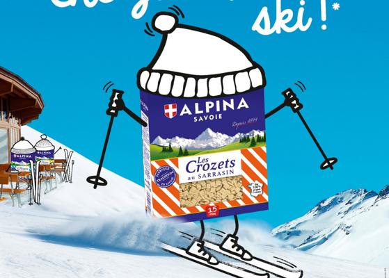 Campagne mister crozet : les crozets font du ski / de la randonnée